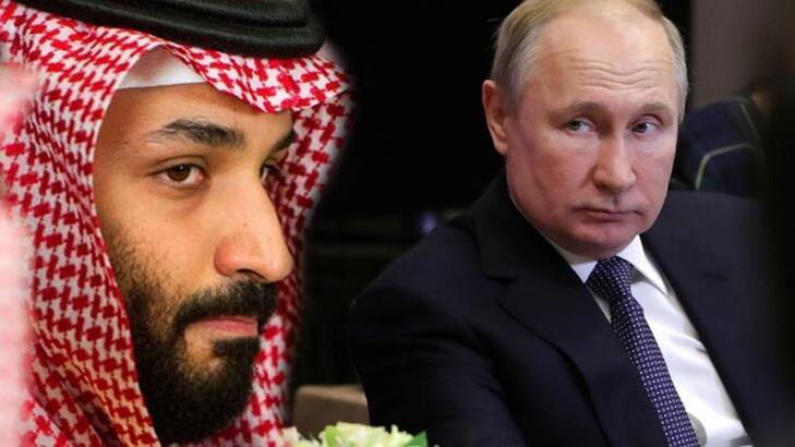 Putin, Suudi Arabistan Veliaht Prensi ile enerji piyasalarını görüştü