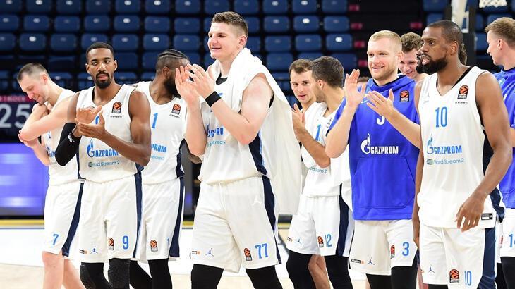 EuroLeague, Zenit'i iki maçta da hükmen mağlup ilan etti!