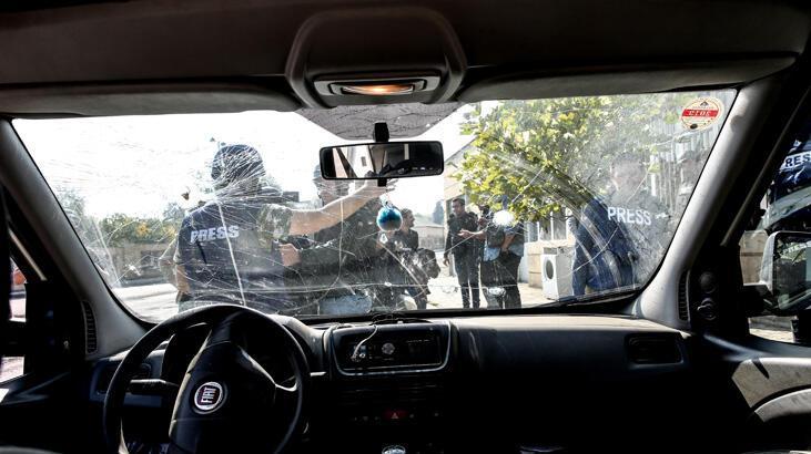 Ermenistan gazetecileri hedef aldı
