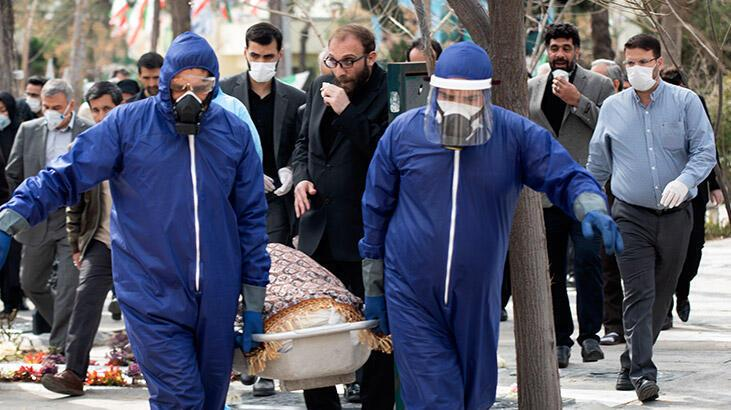 İran'da son 24 saatte 279 kişi koronavirüsten hayatını kaybetti