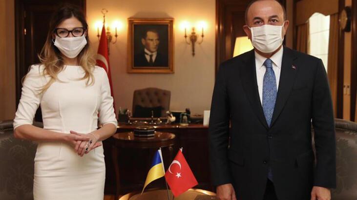Bakan Çavuşoğlu, Ukrayna Dışişleri Bakan Yardımcısı Ceppar'ı kabul etti