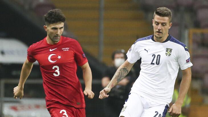 Son dakika - Hasan Ali Kaldırım, Sırbistan maçında sakatlandı