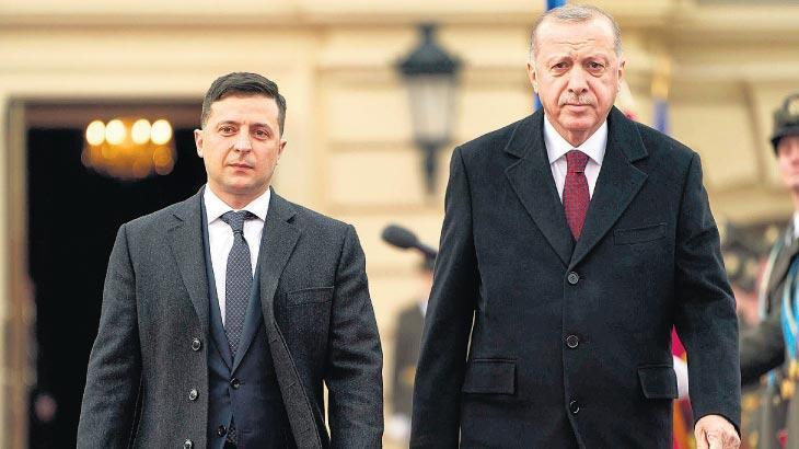 Volodimir Zelenskıy Ankara'ya geliyor
