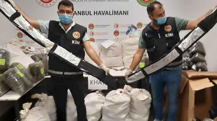 İstanbul Havalimanı'nda piyasa değeri 24 milyon uyuşturucu ele geçirildi!