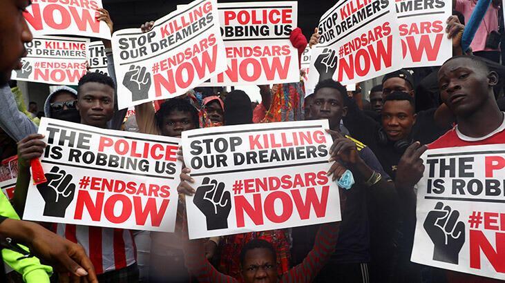 Nijeryalılar artan güvenlik sorununa karşı 19 eyalette ortak gösteri başlattı