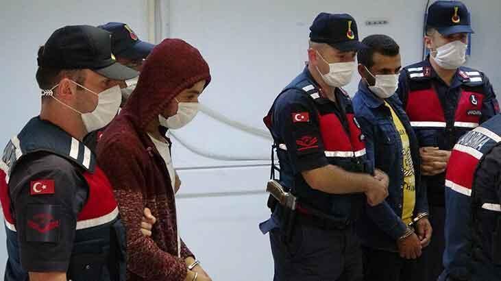 HTŞ terör örgütü şüphelisi 4 kişi adliyeye sevk edildi!