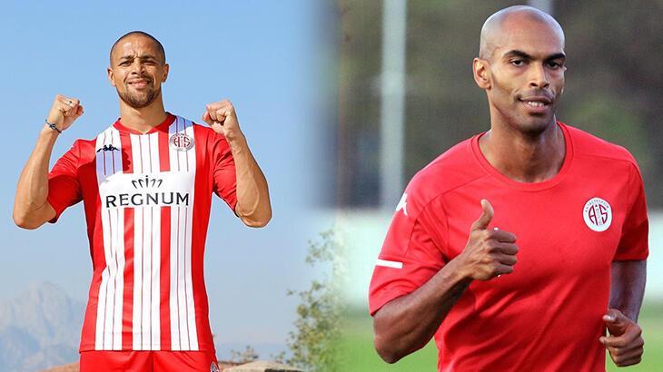 Antalyaspor'da Sidney Sam ve Naldo'ya ilk 11'de görev