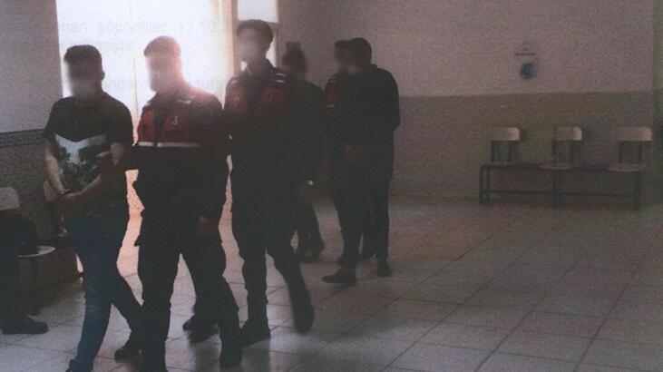 Patronlarının otomobilini çalan 4 kişiyi jandarma yakaladı