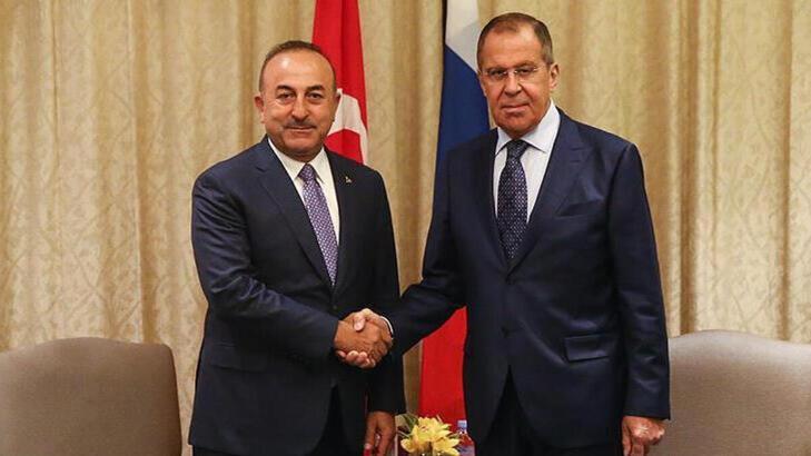 Son dakika!  Dışişleri Bakanı Çavuşoğlu Rus mevkidaşı ile görüştü