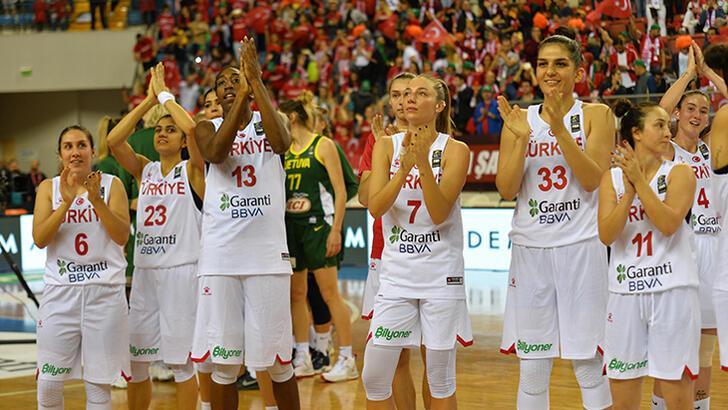 Kadınlar EuroBasket 2021 Elemeleri'nde Türkiye ev sahibi olacak!