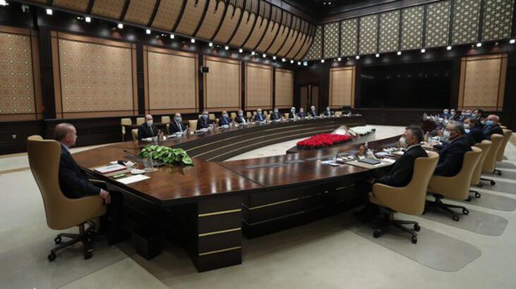 Cumhurbaşkanı Erdoğan, YÖK heyetini kabul etti