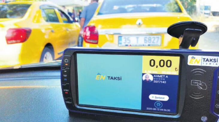 Takside temassız ödemeye ilgi büyük