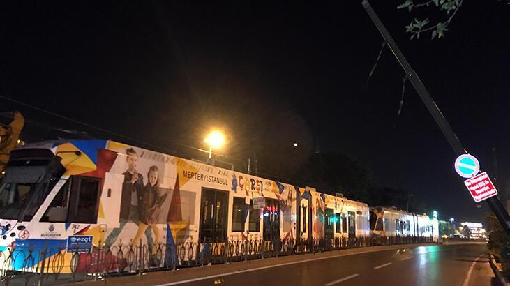 Tramvay seferleri tekrar başladı!