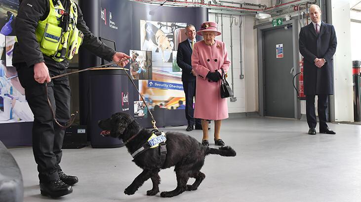 Kraliçe 7 aylık karantinadan çıktı