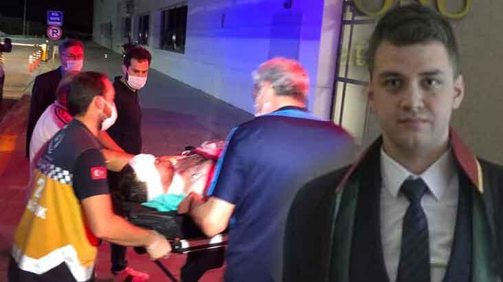 Bıçaklı saldırıya uğrayan genç avukat, sol gözünü kaybetti!