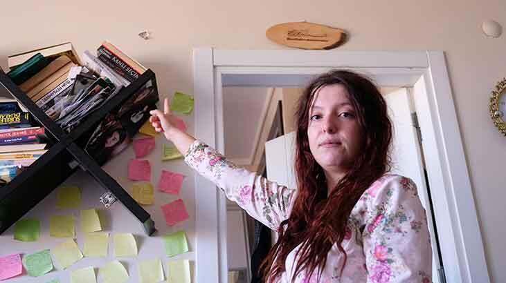 Genç kadın odasına isabet eden maganda kurşunuyla şoke oldu!