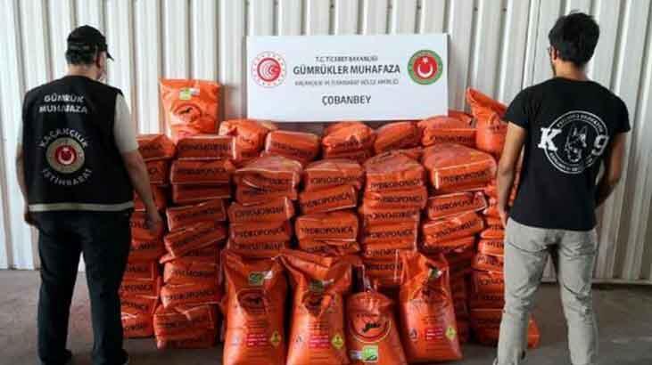 Kilis'te bomba yapımında kullanılan potasyum nitrat ele geçirildi!