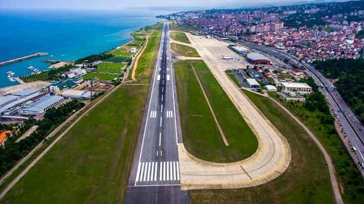 Trabzon Havalimanı 08.00 ile 18.00 saatleri uçuşa kapatılacak