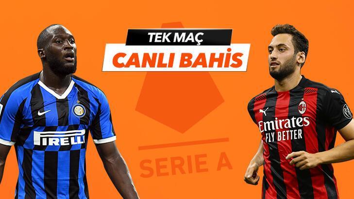 Inter - Milan maçı Tek Maç ve Canlı Bahis seçenekleriyle Misli.com'da