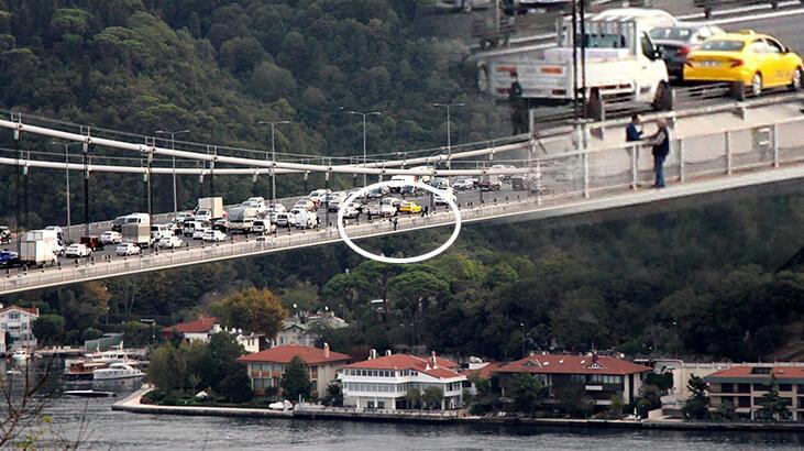 FSM'de intihar girişimi trafiği kilitledi