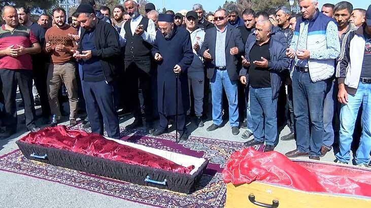 Ermenistan sivilleri vurdu! Bebek ile annesi aynı tabutta
