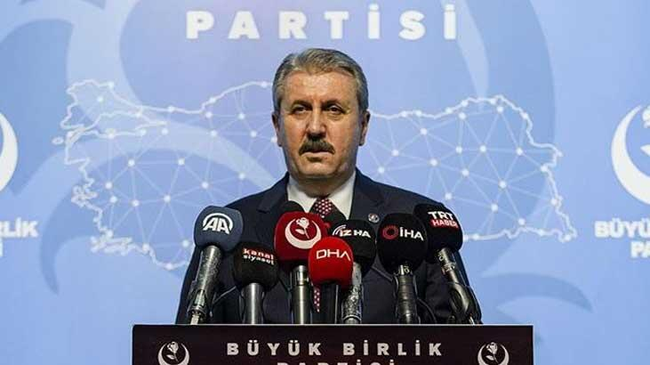Mustafa Destici: Sessiz kalarak Ermenistan'ın katliamlarına ortak oluyorlar