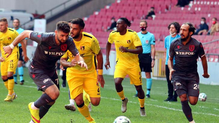 Yılport Samsunspor-İstanbulspor: 0-3