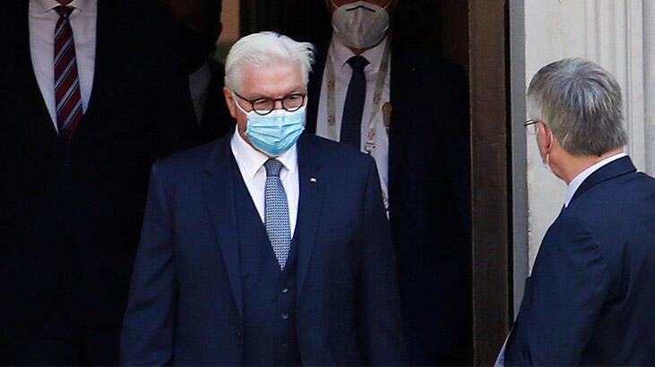Son dakika: Almanya Cumhurbaşkanı Steinmeier, karantinada