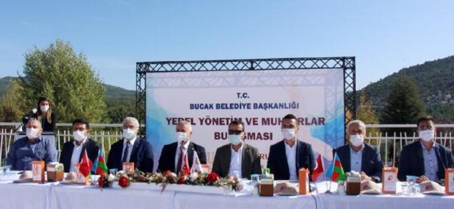 Bucak'ta yerel yönetimler ve muhtarlar toplantısı