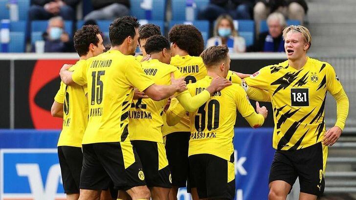 Hoffenheim-Borussia Dortmunund: 0-1