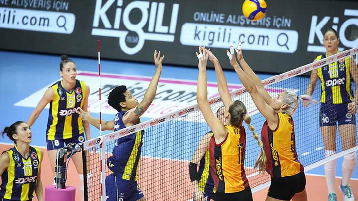 Fenerbahçe Opet, Galatasaray HDI Sigorta'yı yendi!