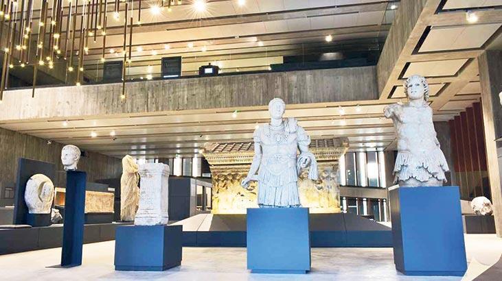 Troya Müzesi  tarihe ışık tutuyor