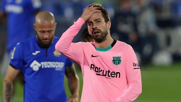 Barcelona'da şok Getafe yenilgisi!