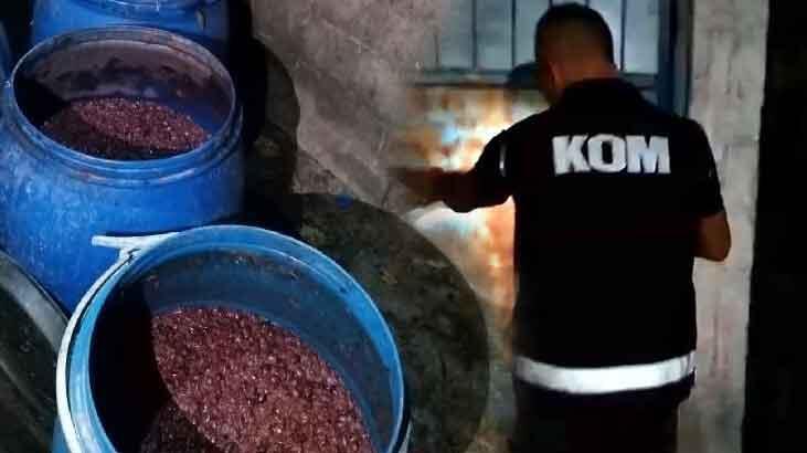Adana'da 215 bin TL değerinde sahte içki ele geçirildi!