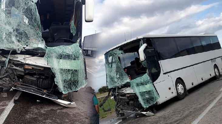 Edirne'de feci kaza! Bulgar turistler dehşeti yaşadı