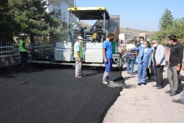 Hacılar'da alt yapı çalışmaları devam ediyor