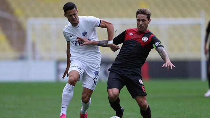 Fatih Karagümrük - Kasımpaşa: 1-1