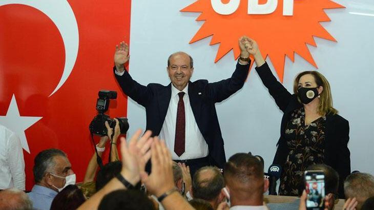Türkiye'den Ersin Tatar'a tebrik