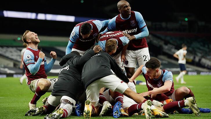 West Ham United'dan inanılmaz dönüş! Tottenham yıkıldı...