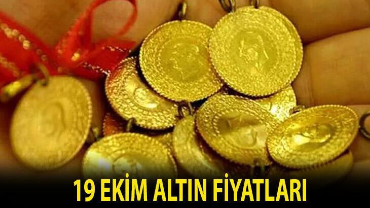 Altın fiyatları 19 Ekim takip sayfası: Bugünkü gram, çeyrek, yarım ve tam altın alış-satış fiyatları ne kadar, kaç lira?