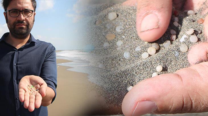 Sahil kumlarına karıştı! 'Adeta zehirli bomba'