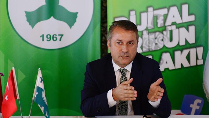 Başkan Karaahmet: Giresunspor tek kelimeyle batmış