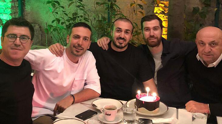 Mustafa Aksakallı'ya doğum günü sürprizi