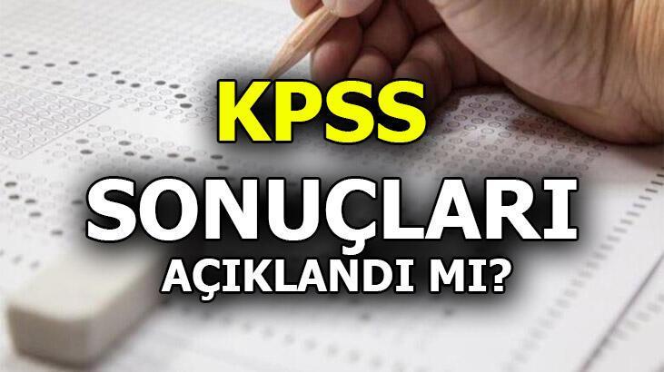 Adaylar araştırıyor: KPSS sonuçları linki erişime açıldı mı? 2020 KPSS sınav sonuçları heyecanı...