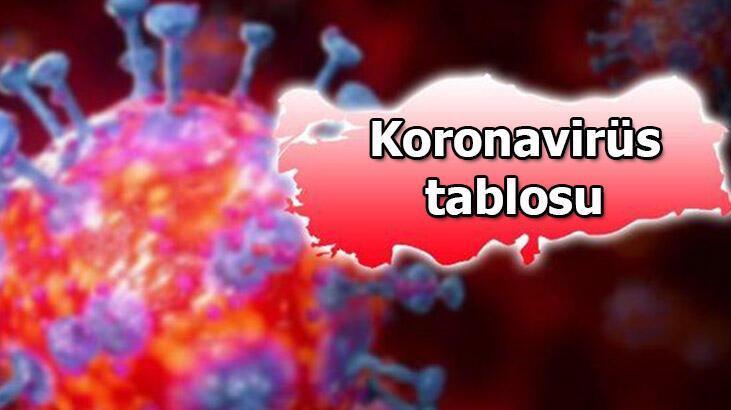 Sağlık Bakanlığı, Koronavirüs tablosunu paylaştı! 20 Ekim 2020