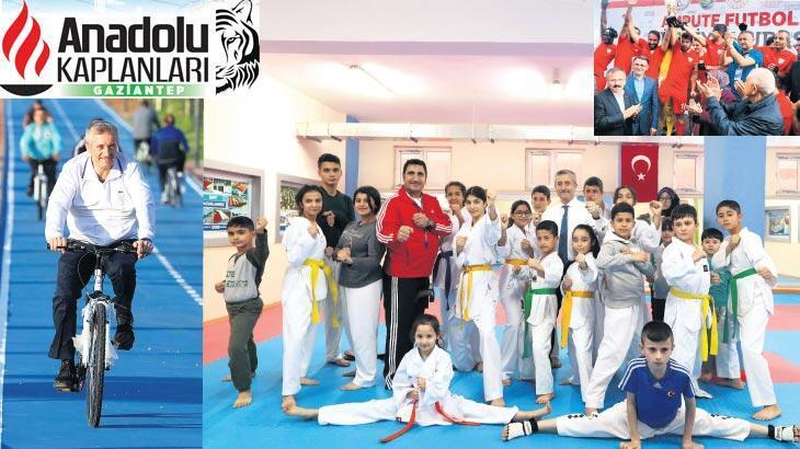 Spor ve sporcu dostu Şahinbey