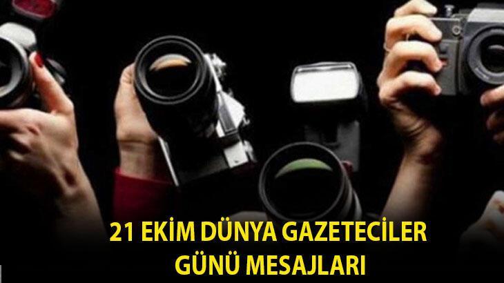 Dünya Gazeteciler Günü mesajları 2020! En güzel ve anlamlı 21 Ekim Dünya Gazeteciler Günü kutlama mesajları...