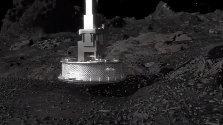 Son dakika! Tarihte bir ilk... NASA, göktaşına indi!
