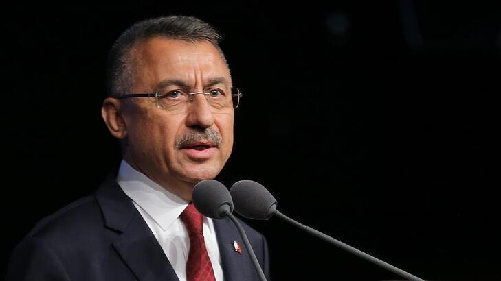 Cumhurbaşkanı Yardımcısı Fuat Oktay'dan doğal gaz açıklaması