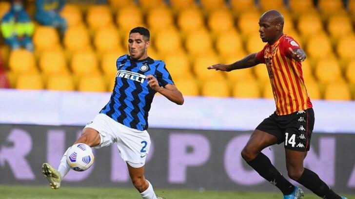 Inter'de Achraf Hakimi Kovid-19'a yakalandı